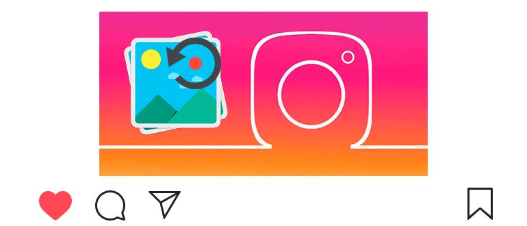Как повернуть фото в Инстаграм