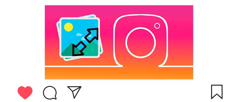 Как увеличить фото или видео в Инстаграме