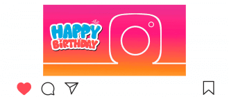 Как поздравить с днем рождения в Инстаграме