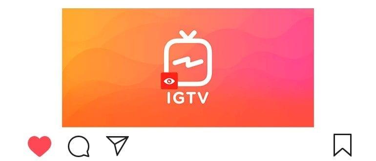 Накрутка просмотров видео IGTV в Инстаграм