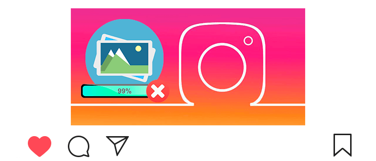 Почему не загружаются фото в Инстаграм