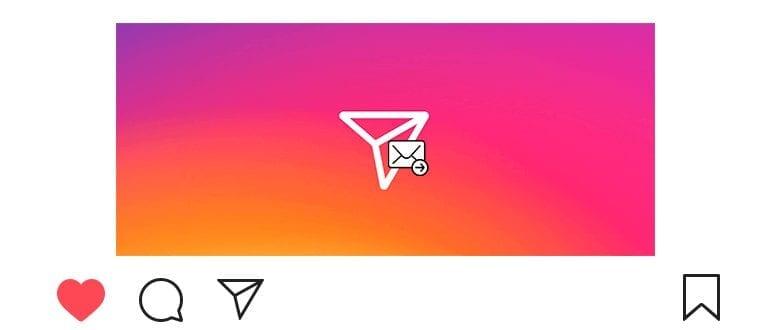 Как переслать сообщение в Инстаграме